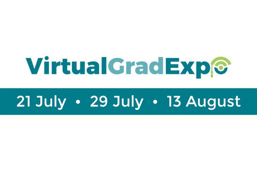 SAGEA VirtualGradExpo event banner