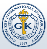 Golden Key International Honours Society logo