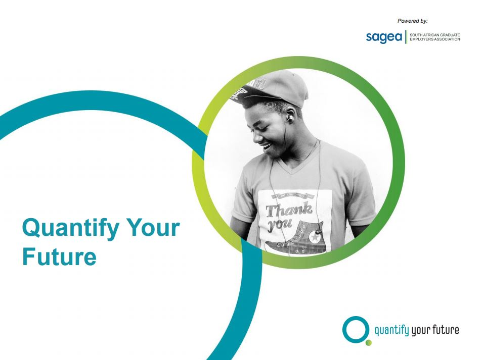 QYF QNE presentation cover image #quantifyyourfuture
