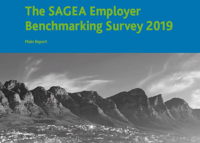SAGEA Employer Benchmarking 2019 report cover