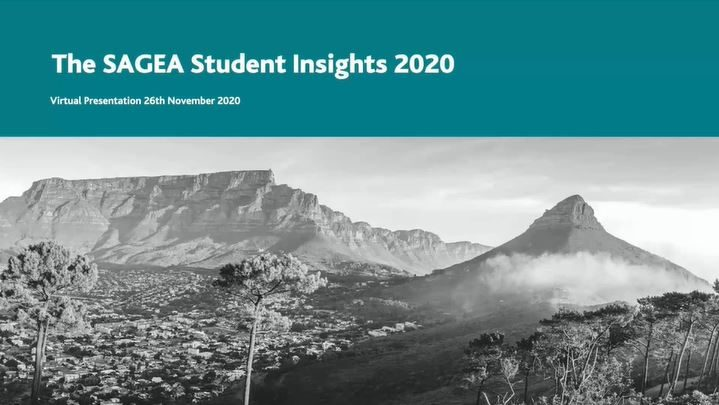 SAGEA Student Insights 2020